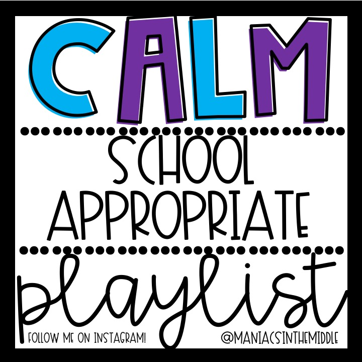 Classroom Playlists - Maniacs in the Middle