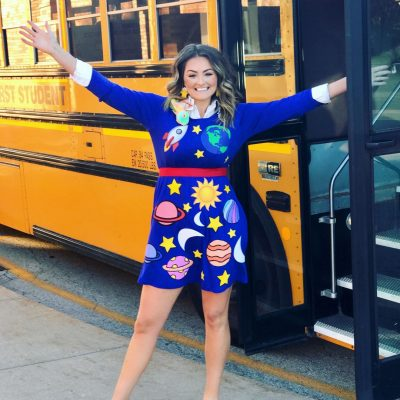 DIY Ms. Frizzle Costume