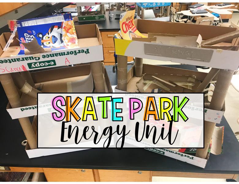 Skate Park Energy Unit
