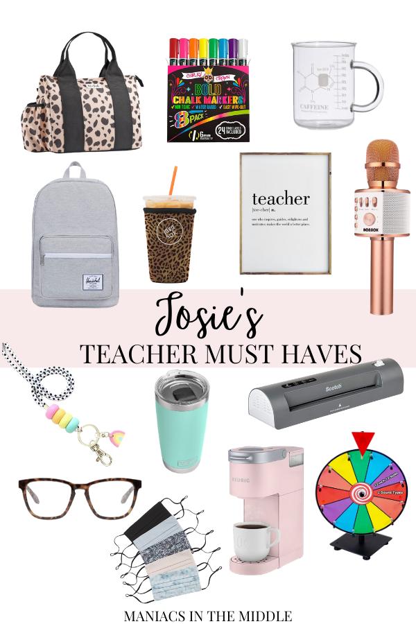 My Teacher & Tech Must-Haves!